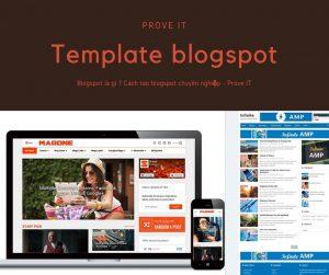 mẫu template blogspot cá nhân