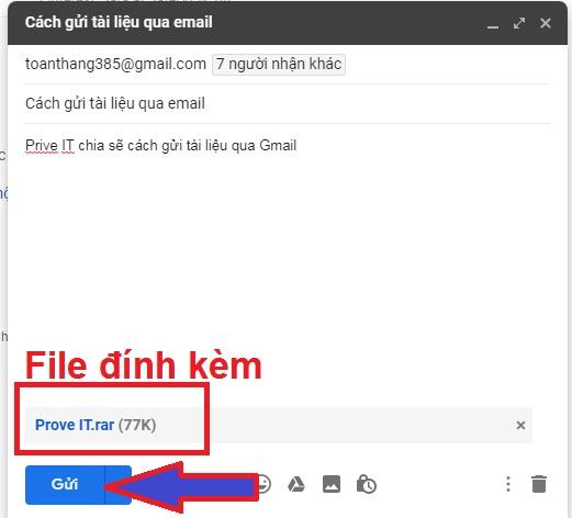 cách gửi 1 folder qua gmail cách gửi file qua gmail folder mail trên máy tính tệp tài liệu 1 cả
