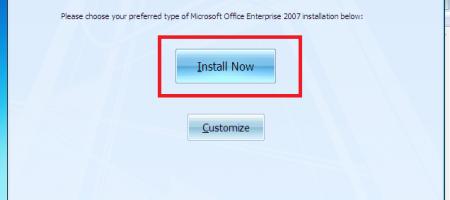 cài đặt microsoft office 2007 miễn phí