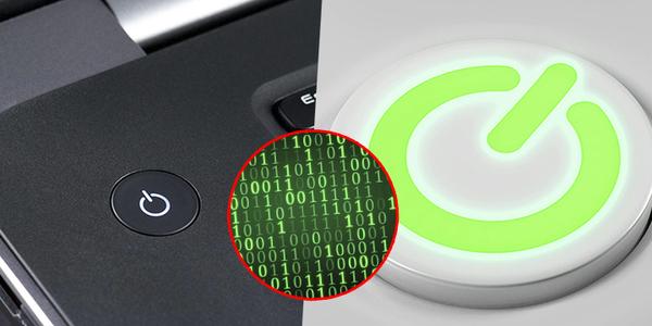 Nút nguồn máy tính