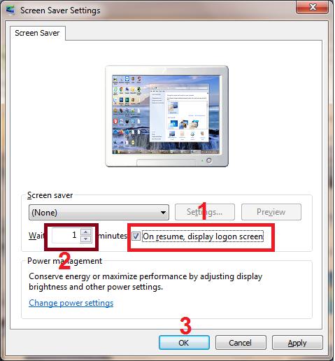 cách khóa màn hình máy tính tạm thời