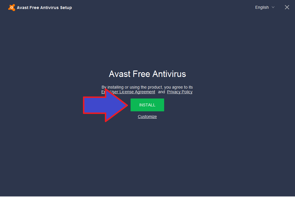 cách cài avast free antivirus