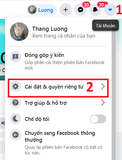 cách đổi lại tên facebook cũ