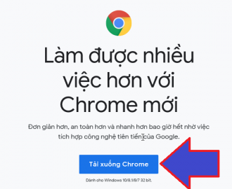 tải google chrome cho win 10