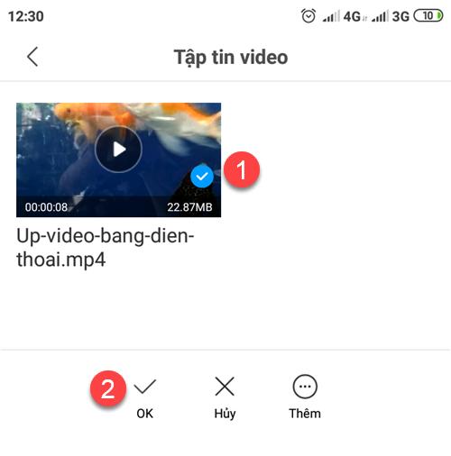 cách đăng clip lên youtube bằng điện thoại