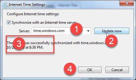 cách đổi giờ trên máy tính