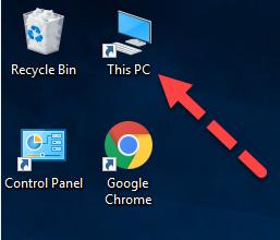 cách lấy biểu tượng my computer ra desktop win 10