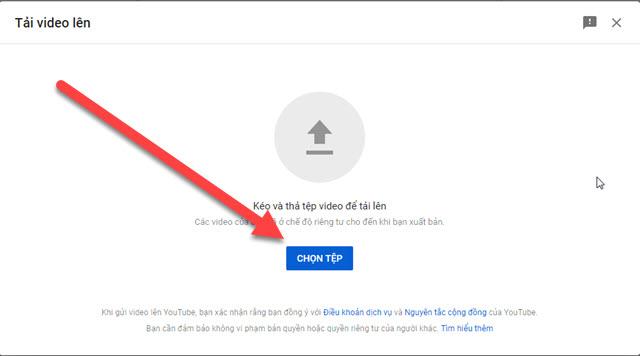 cách up video hd lên youtube
