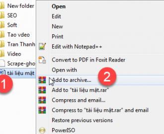 khóa file trên máy tính