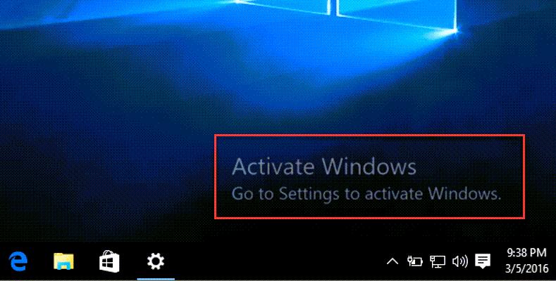 cách active win 10